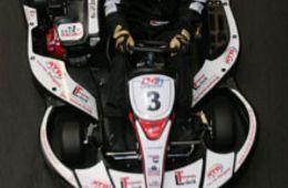 Michael Weidemann (Lück Dellentechnik by ATB / H&R Team HBDL) mit der schnellsten Rennrunde