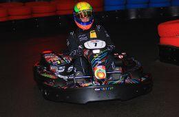 Yannick Fübrich - immer schnell im Kart (Foto: Dirk Fulko - motorsport-xl.de)