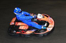 Carsten Rettstadt im Kart bei den 24h Leipzig für das Team RF Racing