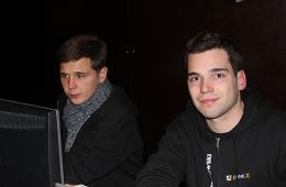 Teamchef Martin Wirkijowski mit seinem Stellvertreter Steve Kaiser